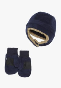 GAP - TODDLER GIRL SET - Beanie - tapestry navy