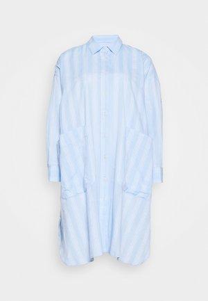 FRIENDSHIP SHIRTDRESS - Shirt dress - light blue