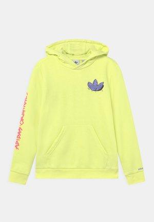 HOODIE UNISEX - Felpa - pulse yellow/light purple