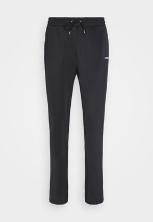 BALLIER TRACK PANTS - Tracksuit bottoms - dark navy/white