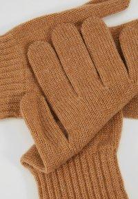 Johnstons of Elgin - CASHMERE GLOVES - Gloves - camel - 5