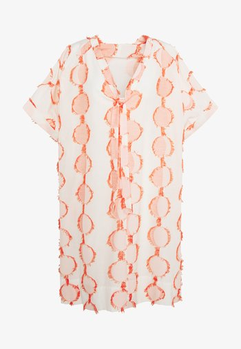 HANG ON DRESS - Denní šaty - cream moon