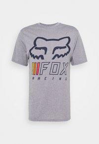 Fox Racing - OVERHAUL TECH TEE - Print T-shirt - grey - 4