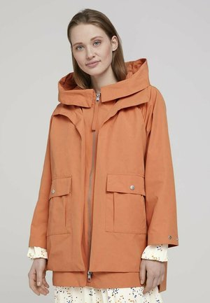 TECHNICAL - Parka - dull coral