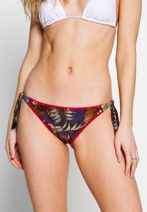 DIMKA IQUITOS CULOTTE - Bikini bottoms - bleu fonce iquitos