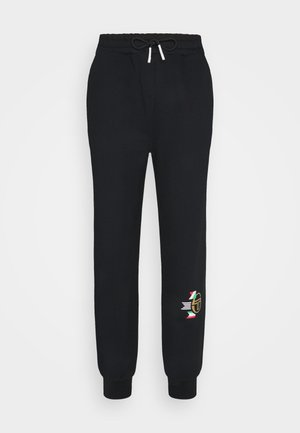 CAMPIONE PANTS - Tracksuit bottoms - anthracite
