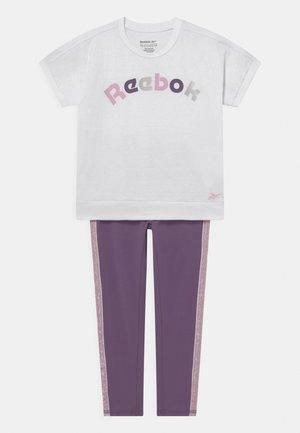 SET - T-shirt z nadrukiem - white