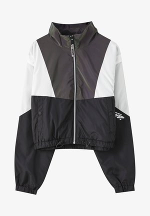 Training jacket - mottled black