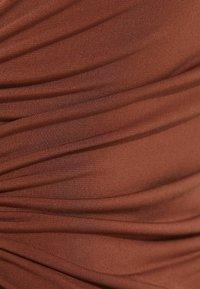 Bershka - Jerseykleid - brown - 5
