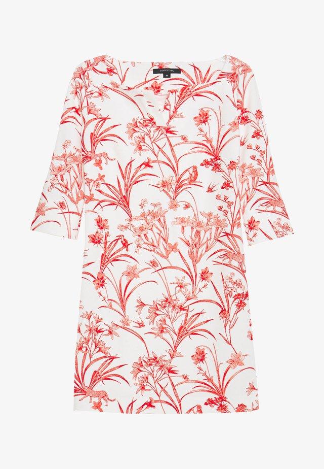 KURZ - Jersey dress - white