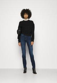s.Oliver - LANG - Jeans slim fit - dark blue - 1