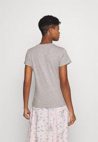 Lee - SLIM FIT TEE - Basic T-shirt - grey mele - 2