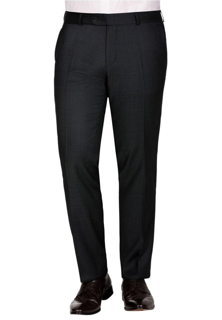 Carl Gross - SASCHA - Suit trousers - black