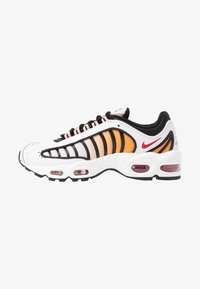 Nike Sportswear - AIR MAX TAILWIND - Sneakers - white/gym red/black/coral stardust/desert - 1