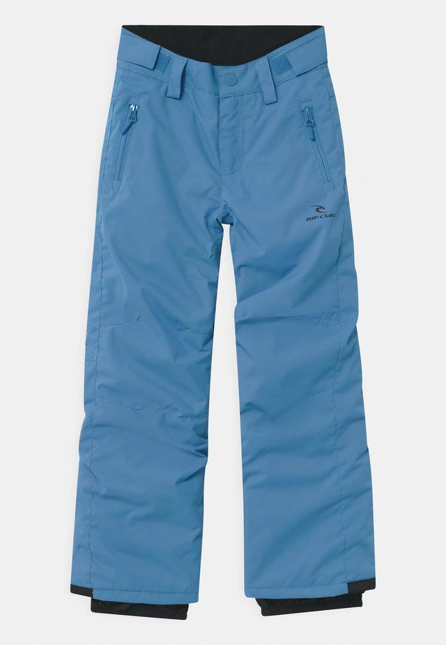 OLLY UNISEX - Snow pants - blue