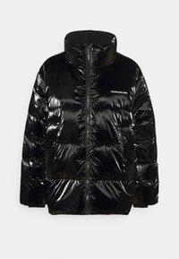 Calvin Klein Jeans - HIGH SHINE PUFFER - Winter jacket - ck black - 4