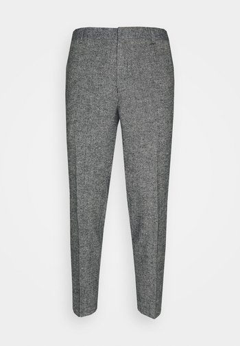 FOSTERFIELD - Trousers - navy/stone