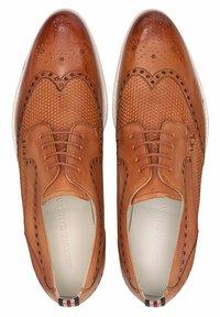 Melvin & Hamilton - SCOTT - Smart lace-ups - braun - 2