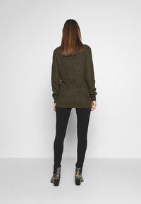 Cotton On - MATERNITY  - Leggings - Trousers - black - 2