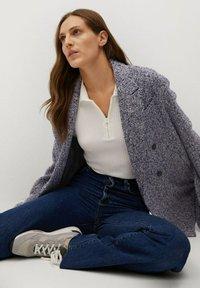 Mango - LAPIZ - Classic coat - marineblau - 4