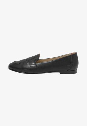 HOOK-AND-LOOP  - Mocassins - black