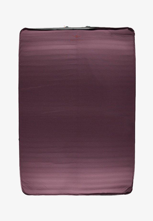 KUOPIO 3D 7,5 DOUBLE - Sleeping mat - wine