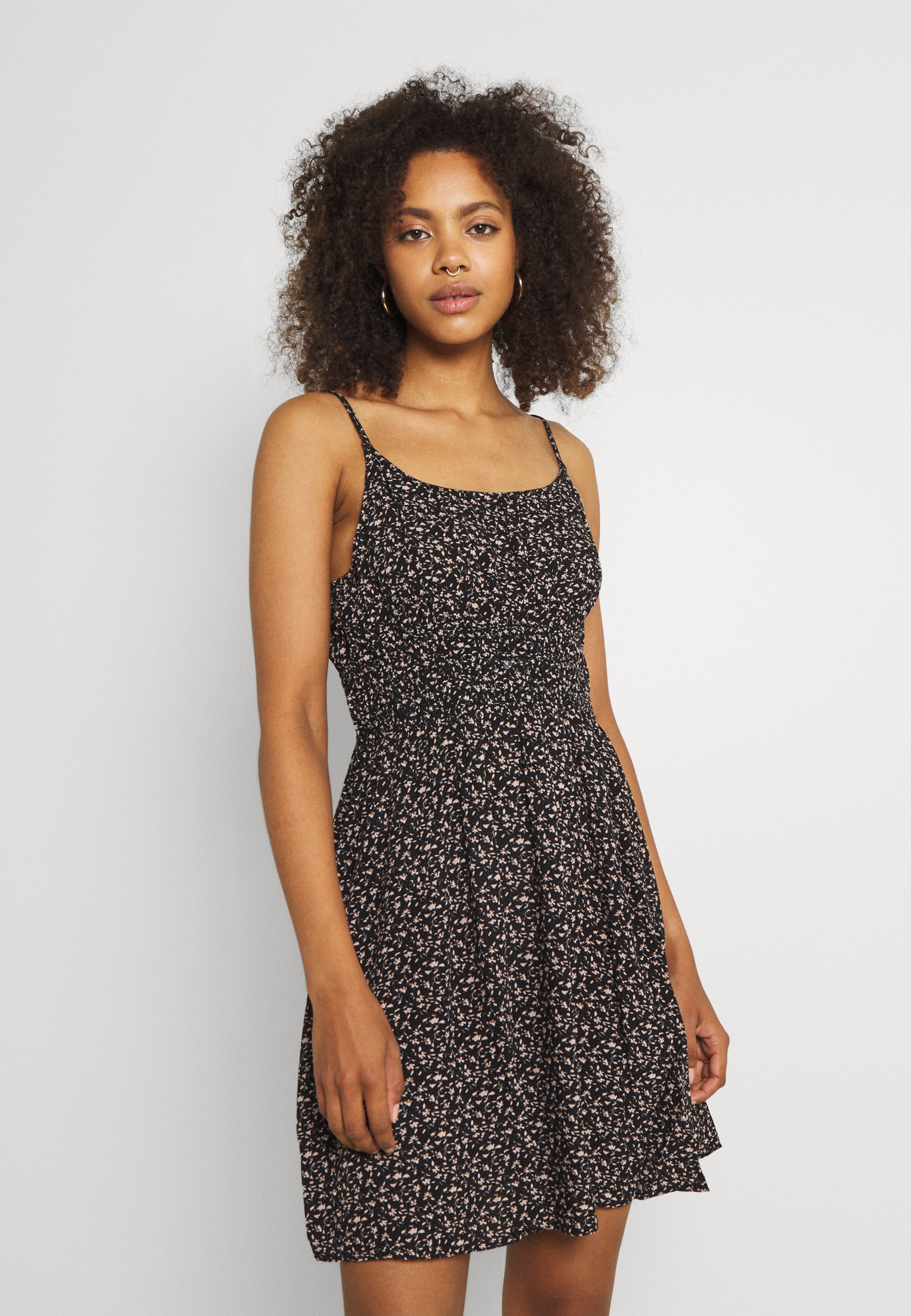 Women ELASTIC WAIST MINI - Day dress