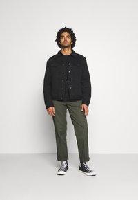 AllSaints - ALDER JACKET - Denim jacket - black - 1