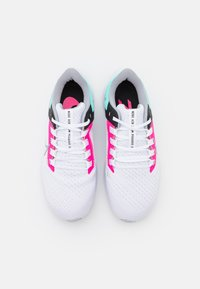 Nike Performance - AIR ZOOM PEGASUS 38 - Neutrala löparskor - white/wolf grey/hyper pink/dynamic turquoise/black/barely green - 3