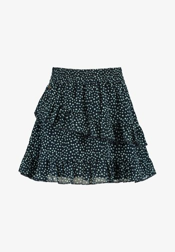 ROCK ROBBY JR. - Pleated skirt - dark blue