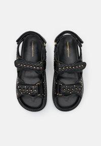 Copenhagen Shoes - STUDS ON - Sandals - black - 5