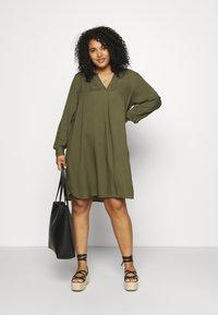 Zizzi - KNEE DRESS - Day dress - ivy green - 1