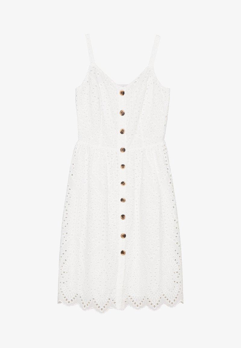 Vila - VICAMELINA DRESS - Kjole - snow white