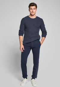 JOOP! Jeans - HADRIAN-STRICKPULLOVER  - Jumper - navy - 1