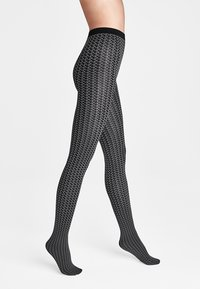 Wolford - KARTER  - Tights - slate/black - 0