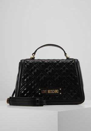 BORSA QUILTED - Handbag - black