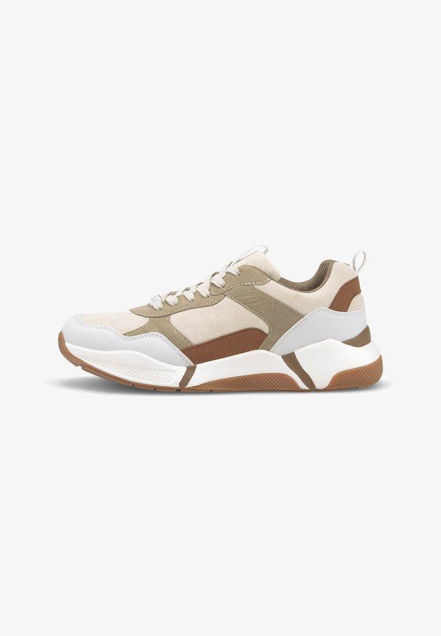 Sneakers laag - marble