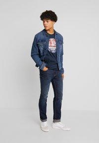 Paddock's - RANGER PIPE VINTAGE - Jeans Straight Leg - dark stone blue - 1
