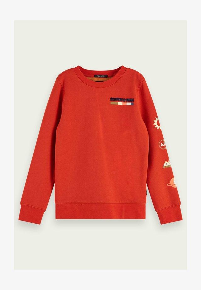 Sweatshirt - red rock