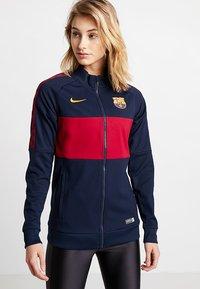 Nike Performance - FC BARCELONA - Training jacket - obsidian/noble red/university gold - 0