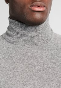 Benetton - BASIC ROLL NECK - Jumper - grau - 3