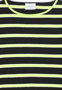 Grunt - ANIKA TEE - Longsleeve - black/neon green - 4