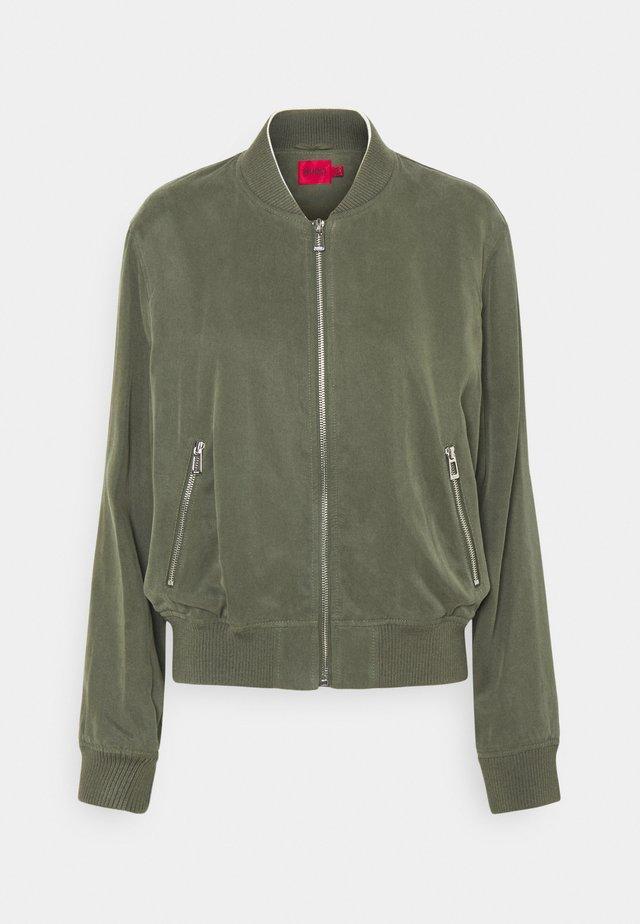 AGESA - Bomber Jacket - beige/khaki