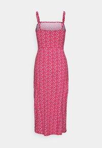 Hollister Co. - MIDI DRESS - Pouzdrové šaty - red - 1