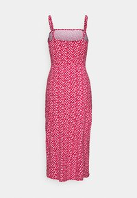 Hollister Co. - MIDI DRESS - Shift dress - red - 1
