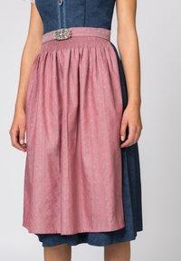 Stockerpoint - ROSELINE - Dirndl - blue/old pink - 3