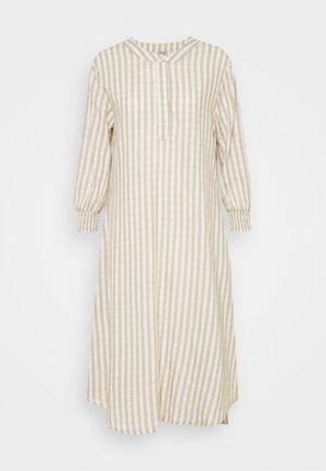 NOOR DRESS - Maxi dress - oatmeal