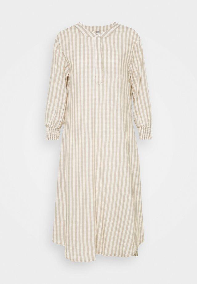 NOOR DRESS - Maxi-jurk - oatmeal