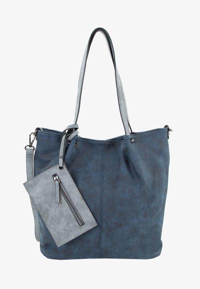 SURPRISE - Shopping Bag - blue grey 508