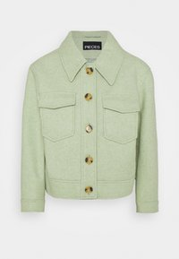 Pieces Petite - Summer jacket - desert sage/melange - 0